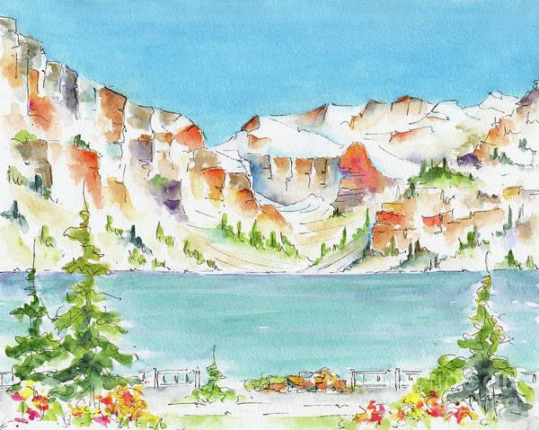 Painting - Canada 150 Alberta by Pat Katz