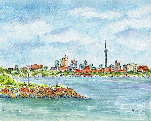 Painting - Canada 150 Ontario by Pat Katz