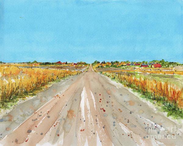 Painting - Canada 150 Saskatchewan by Pat Katz
