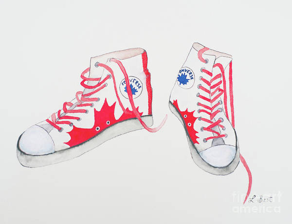 Painting - Canada Converse by Laurel Best