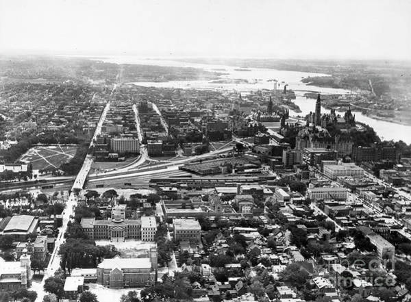 Photograph - Canada, Ottawa 1940. by Granger