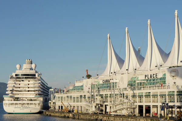 Photograph - Canada Place Cruise Ship  by Ross G Strachan