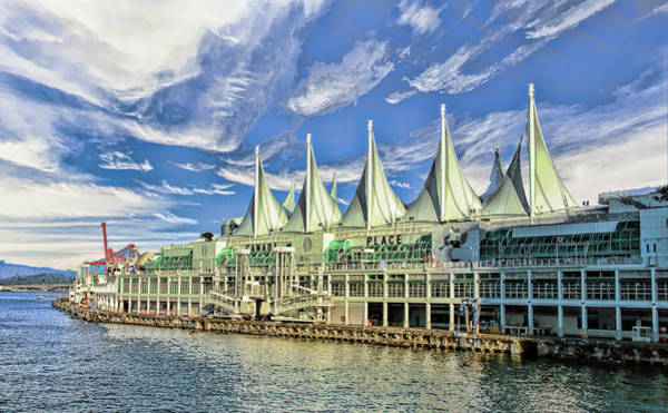 Photograph - Canada Place - Waterfront In Vancouver Canada by Ola Allen