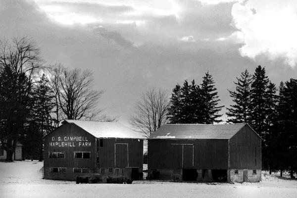 Photograph - Canadian Farm by Anthony Jones