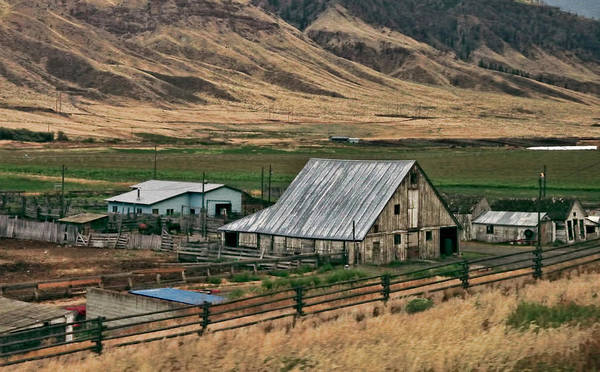 Photograph - Canadian Farm by Ola Allen
