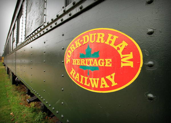 Wall Art - Photograph - Canadian Heritage Train by Valentino Visentini
