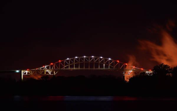 I-75 Photograph - Canadian International Bridge by Pat Turner