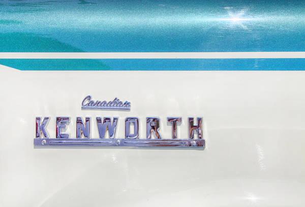 Kenworth Photograph - Canadian Kenworth by Theresa Tahara
