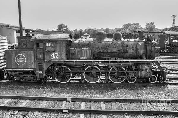 Canadian National Railway Photograph - Canadian National #47 by Anthony Sacco