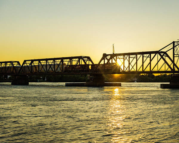 Photograph - Canadian Pacific Railway Over The Niagara by Chris Bordeleau