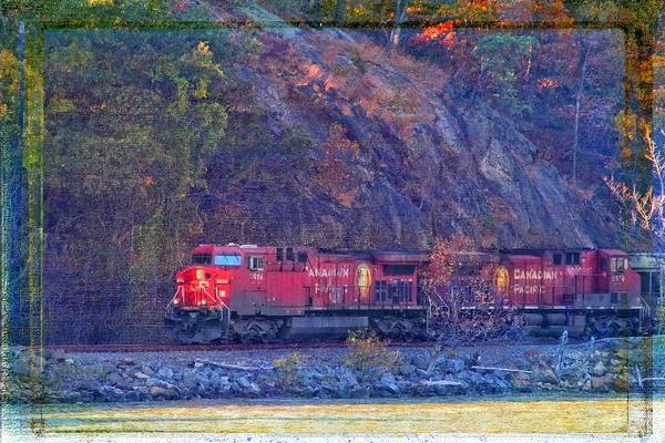 Photograph - Canadian Pacific Reds by Alice Gipson