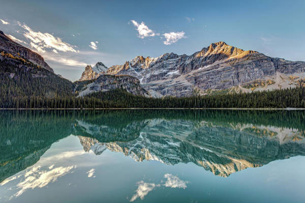 Photograph - Canadian Rockies Autumn Reflection by Pierre Leclerc Photography