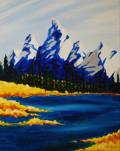 Painting - Canadian Rockies by Emily Page