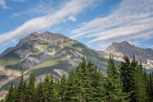 Photograph - Canadian Rockies Near Kicking Horse Pass by Joan Carroll