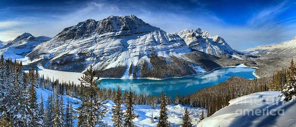 Photograph - Canadian Rockies Winter Paradise by Adam Jewell