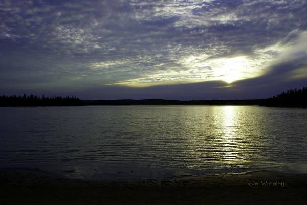 Photograph - Canadian Sunset by Joanne Smoley