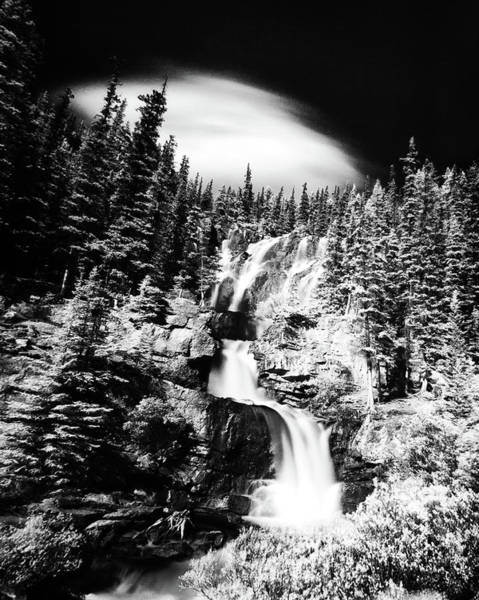 Ian Macdonald Photograph - Canadian Waterfall In Summer by Ian MacDonald