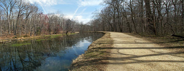 Wall Art - Photograph - Canal And Towpath - Great Falls Park - Maryland by Brendan Reals