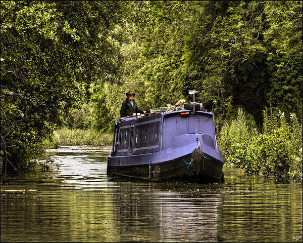 Photograph - Canal Boat by Chris Lord