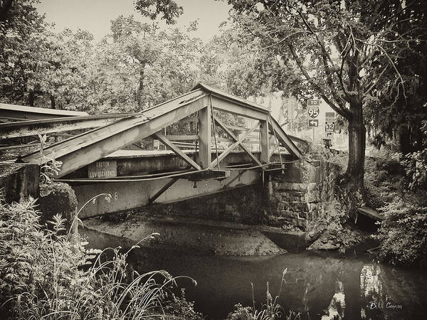 Wall Art - Photograph - Canal Bridge At Washingtons Crossing by Bill Cannon