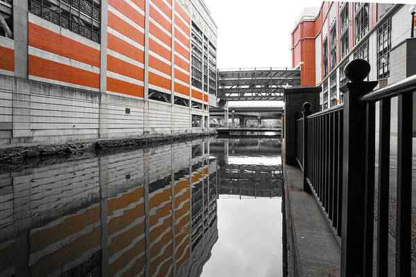 Photograph - Canal by Christopher Brown
