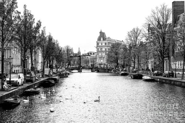 Photograph - Canal Day In Amsterdam by John Rizzuto