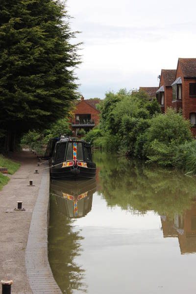 Wall Art - Photograph - Canal In Stratford Upon Avon by Dominic Labbe
