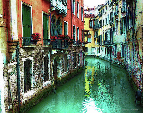 Photograph - Canal In Venice by Coleman Mattingly