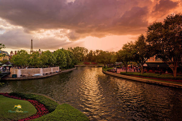 Photograph - Canal by Jim Thompson