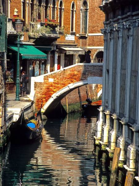 Wall Art - Photograph - Canal Next To Church Of The Miracoli In Venice For Vrooman by Michael Henderson