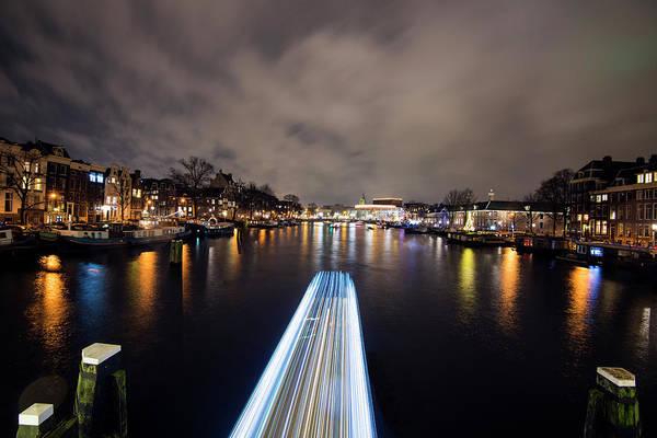 Photograph - Canal Streaking I by Matt Swinden
