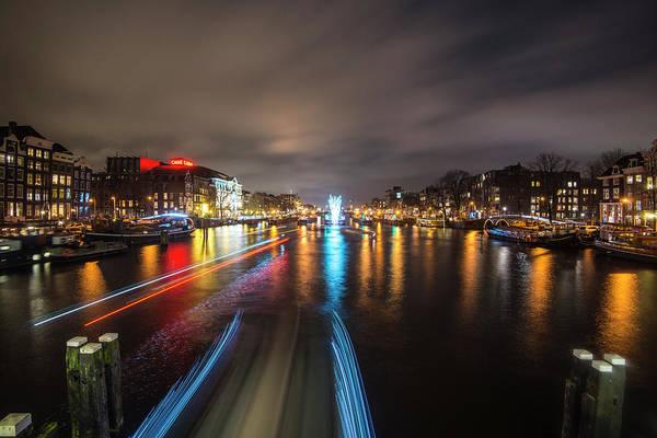 Photograph - Canal Streaking IIi by Matt Swinden