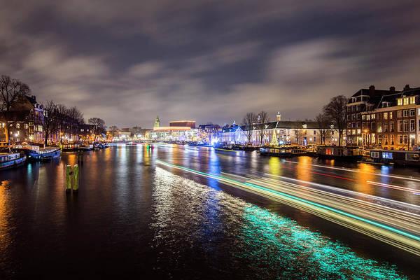 Photograph - Canal Streaking Iv by Matt Swinden