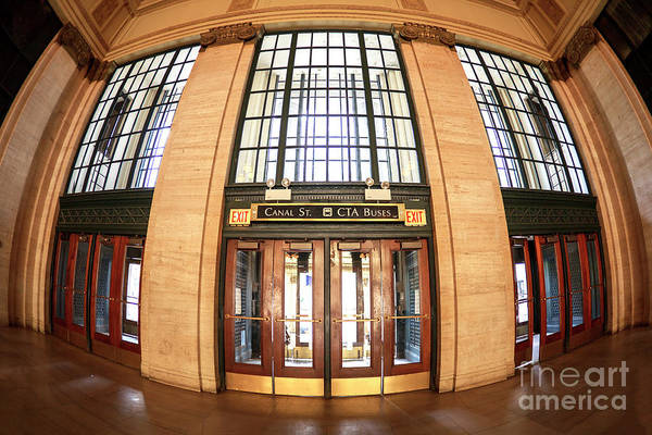Photograph - Canal Street Exit Chicago by John Rizzuto