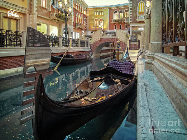 Photograph - Canale Grande by Franz Zarda