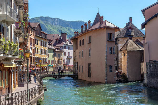 Wall Art - Photograph - Canals Beneath The Alps by W Chris Fooshee