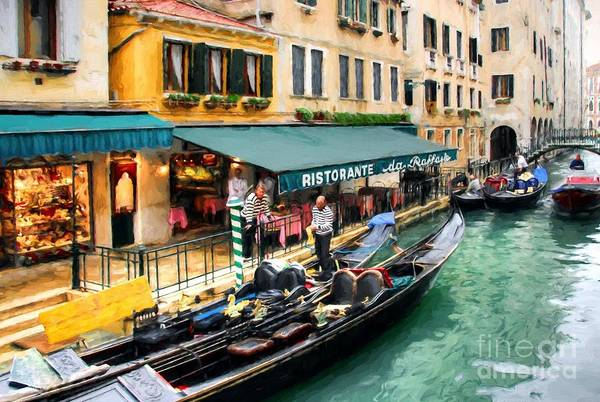 Photograph - Canals Of Venice # 3 by Mel Steinhauer