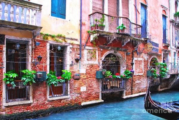Wall Art - Photograph - Canals Of Venice # 5 by Mel Steinhauer