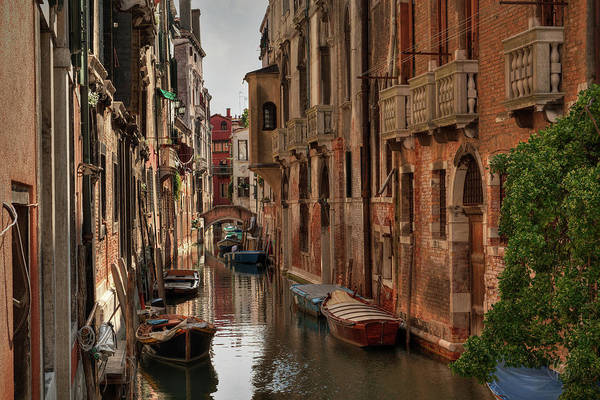 Photograph - Canals Of Venice 001 by Lance Vaughn