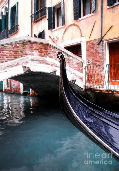 Photograph - Canals Of Venice by Mel Steinhauer