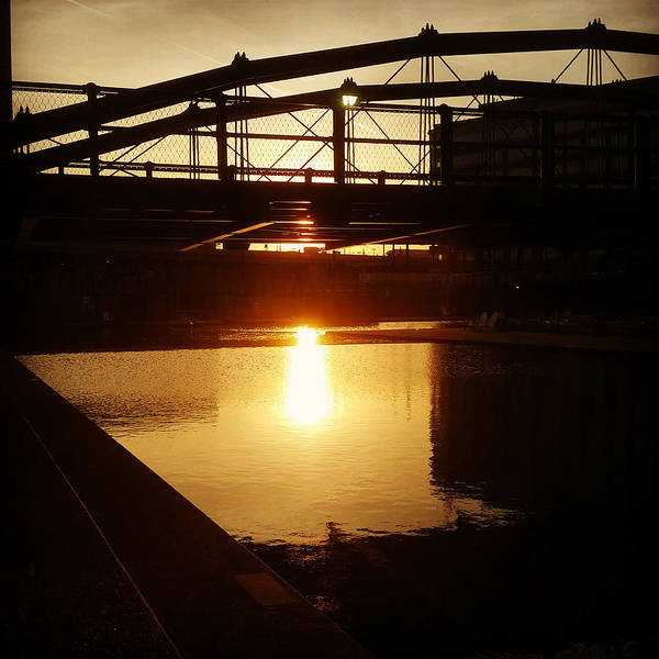 Photograph - Canalside Dawn No 4 by Chris Bordeleau