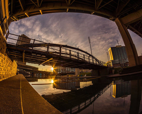 Photograph - Canalside Dawn No 6 by Chris Bordeleau