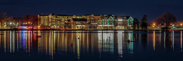 Photograph - Canandaigua Lights by Rod Best