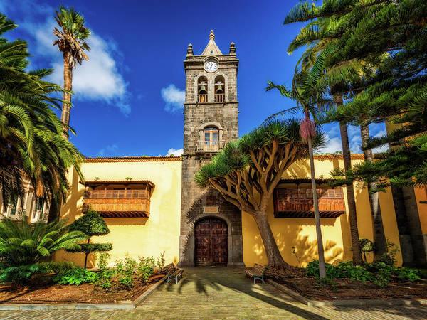 Photograph - Canary Islands Instituto Cabrera Pinto - San Cristobal De La Laguna, Tenerife, Spain by Nico Trinkhaus