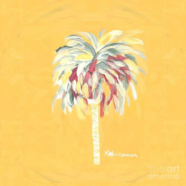 Canary Palm Tree Art Print