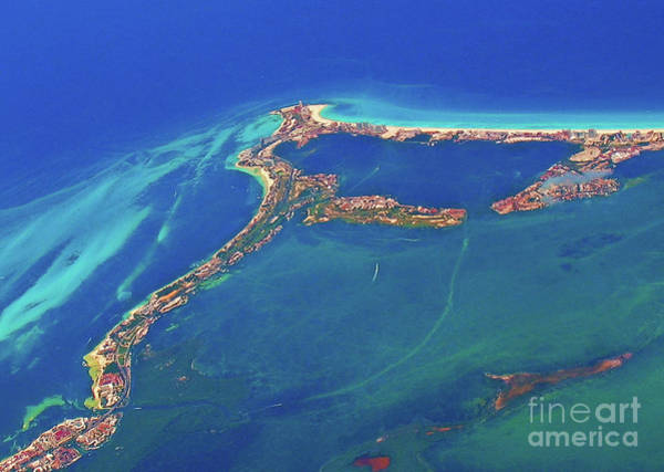 Photograph - Cancun Wide By Air by Patti Whitten