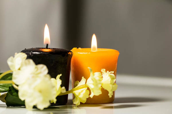 Items Photograph - Candle by Hyuntae Kim
