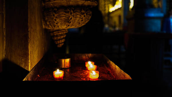 Photograph - Candle Oasis by Nisah Cheatham