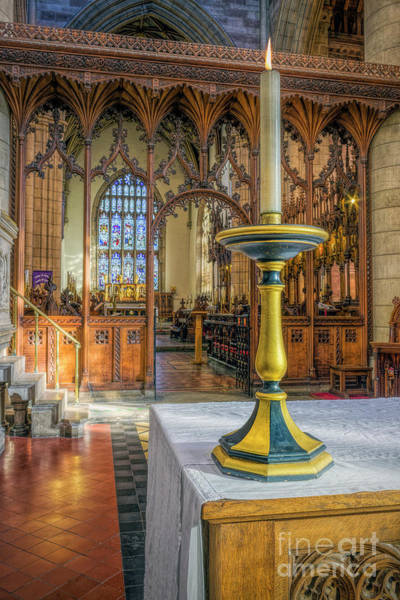 Photograph - Candle Of  Prayer by Ian Mitchell