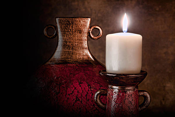 Candles Wall Art - Photograph - Candle by Tom Mc Nemar